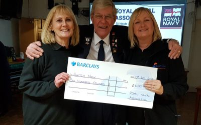 St Neots Royal Naval Association support
