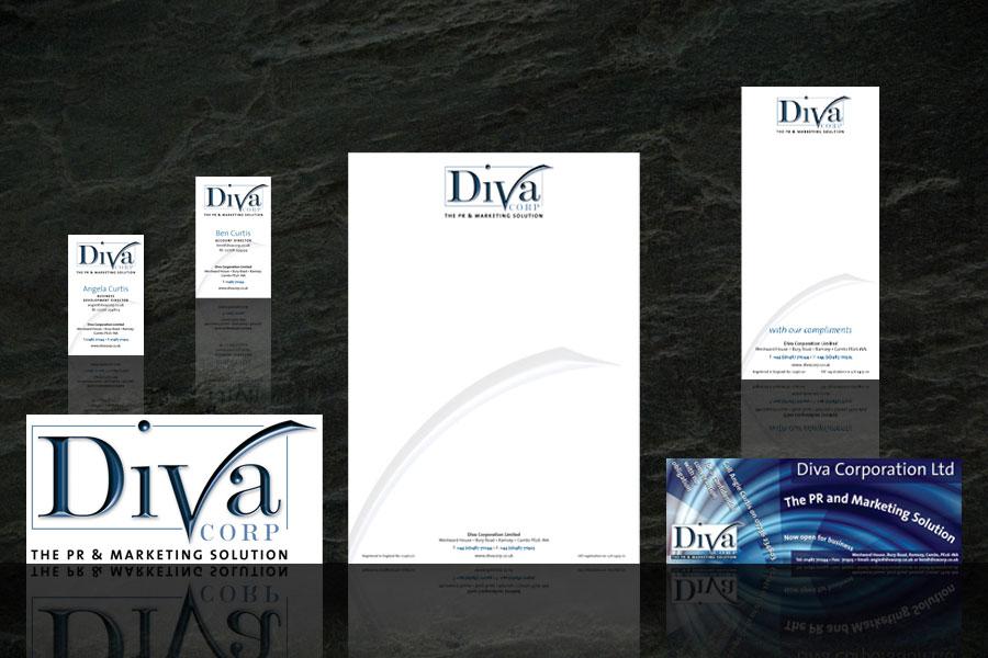 Diva PR branding