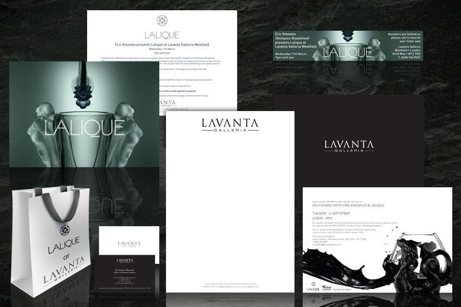 Lavanta Galleria branding