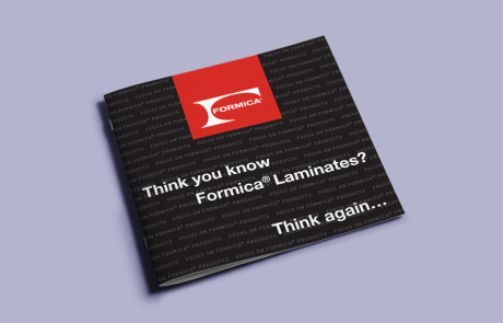 Formica brochure cover