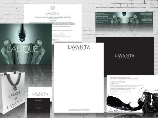 Lavanta Galleria corporate branding