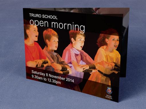 Truro School Open Morning brochure