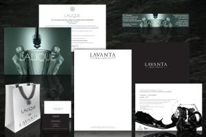 Lavanta Galleria corporate branding