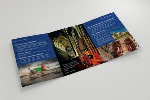 Truro School Girl Choristers A4, 6pp leaflet