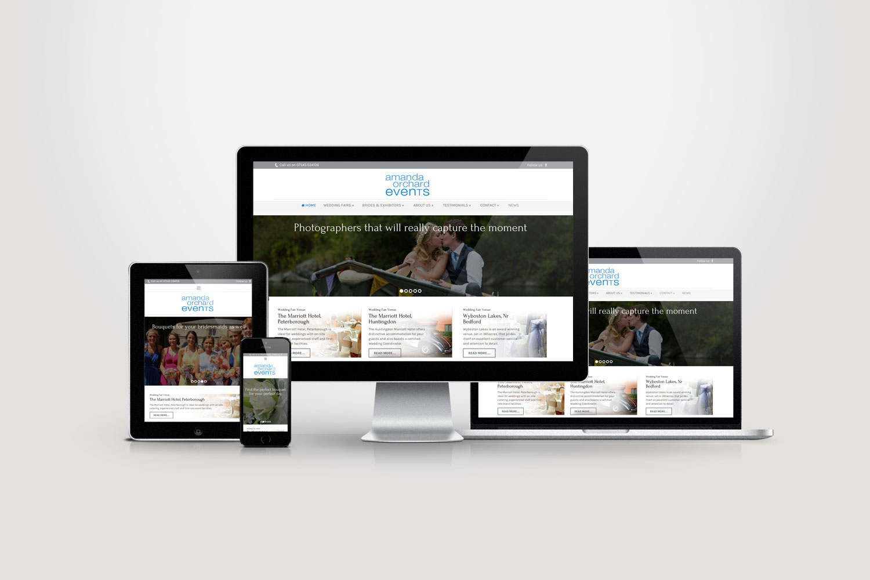 Amanda Orchard Events website