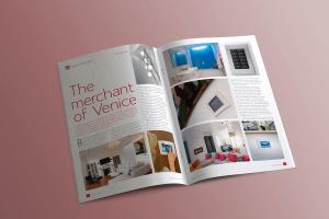 Custom Installer magazine spread