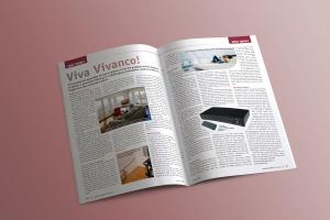 Inside Hi-fi magazine spread 1
