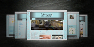 Serenity Beauty & Skincare website