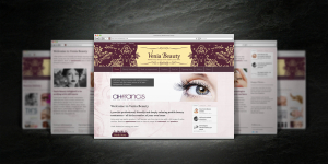Venia Beauty website