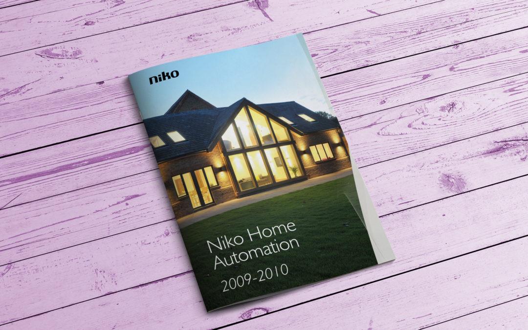 Niko Home Automation product catalogue