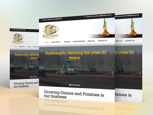 Collmart Growers website