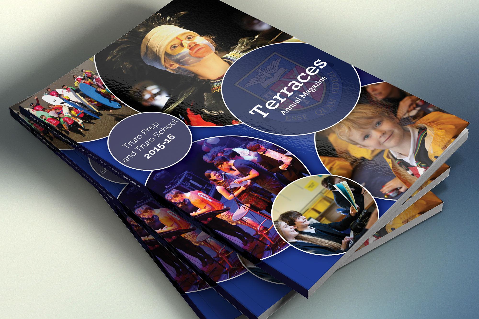 Truro School Terraces magazine