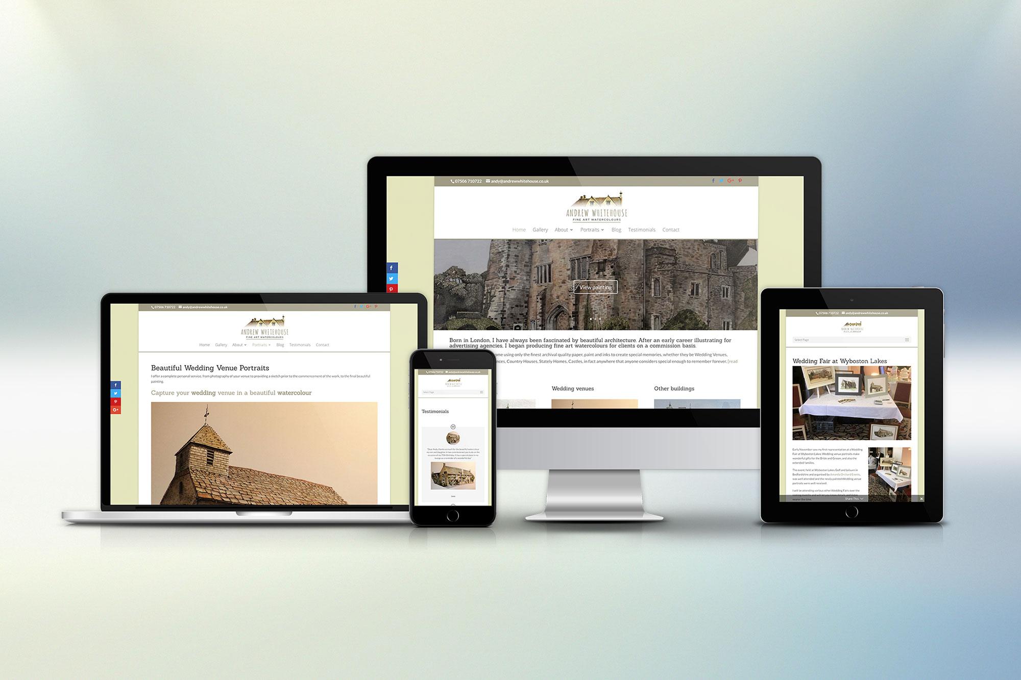 Andrew Whitehouse Artist website